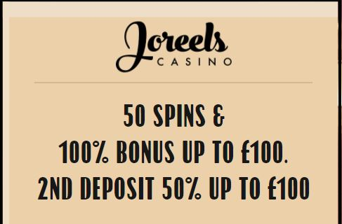 joreels bonus offer
