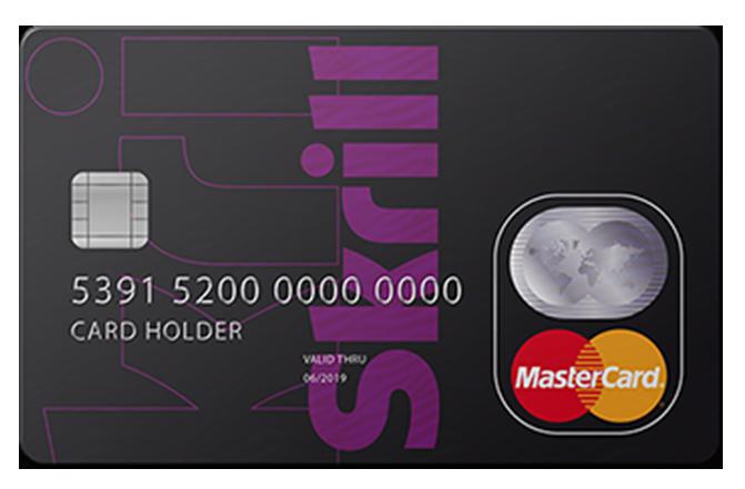 skrill card