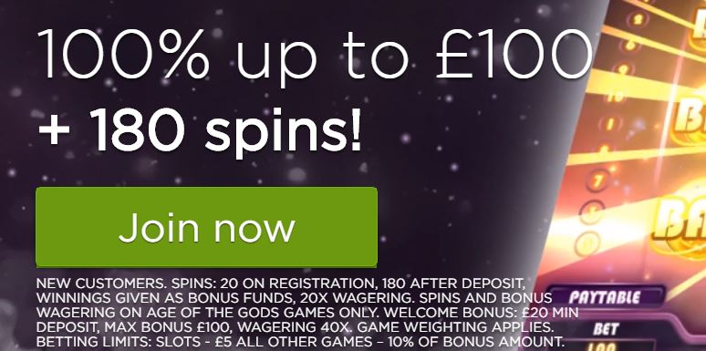 casino.com uk bonus