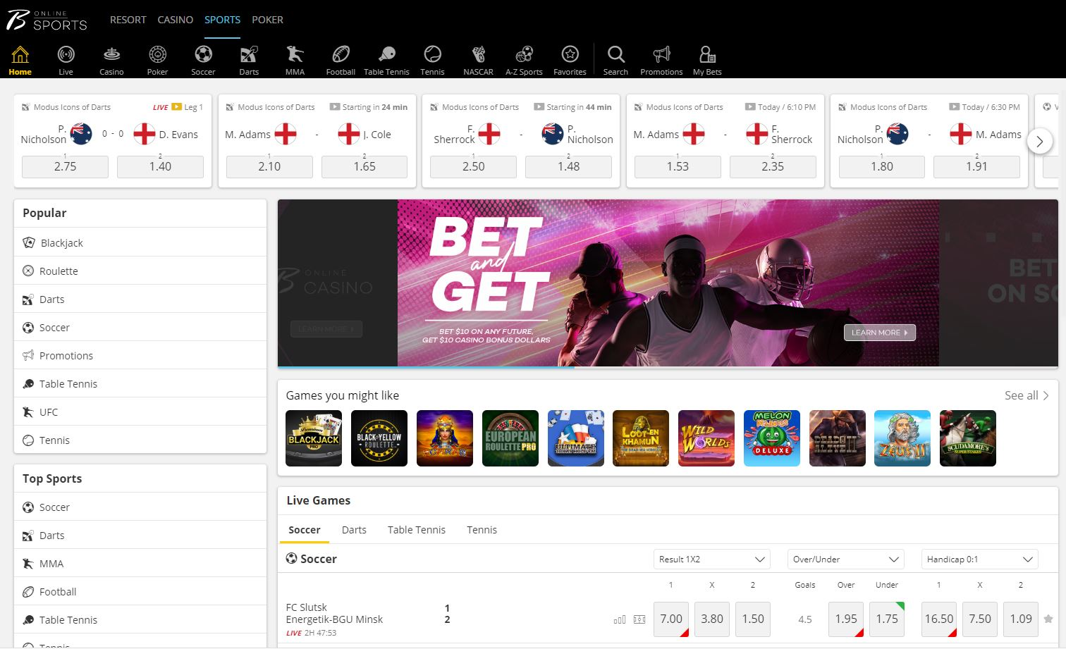 borgata casino sportsbook